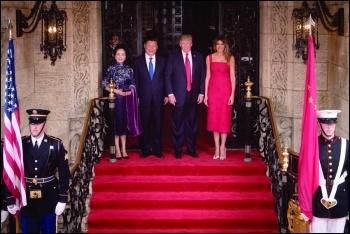Key Korean players - presidents Xi Jingping and Donald Trump photo whitehouse/CC
