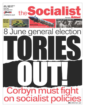 The Socialist issue 945