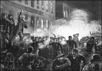 The deadly affair in Haymarket Square
