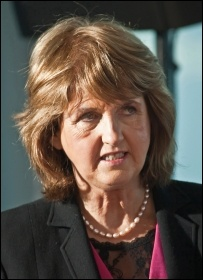 Pro-cuts former Irish Labour leader Joan Burton, photo by William Murphy (Creative Commons)
