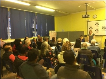 Waltham Forest SP meeting, 4.5.17. Photo Ian Pattison