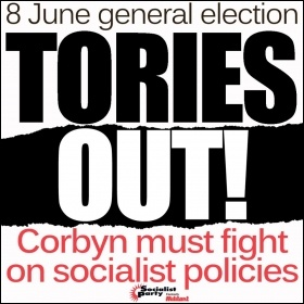 Tories out! Corbyn can win with socialist policies, meme James Ivens