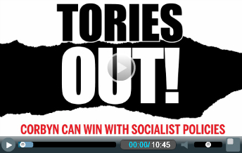 Tories Out video splash
