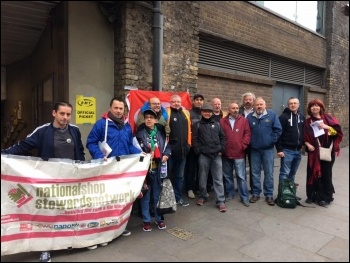 London Bridge picket line photo Steve Hedley