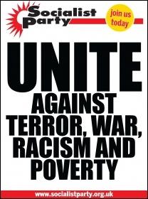 No terror poster