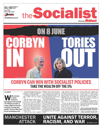 The Socialist issue 950