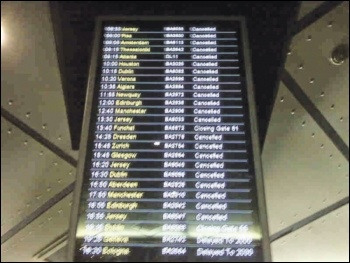 The IT failure meant flights were cancelled for thousands of passengers, photo by Andrew Girdwood/CC