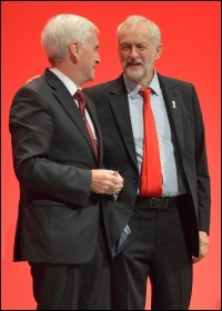 How will Corbyn and McDonnell be able to resist the enormous political and economic pressure they will come under to compromise their anti-austerity policies? photo rwendland/CC
