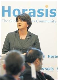 Arlene Foster, leader of the bigoted, sectarian DUP, photo by Richter Frank-Jurgen/CC