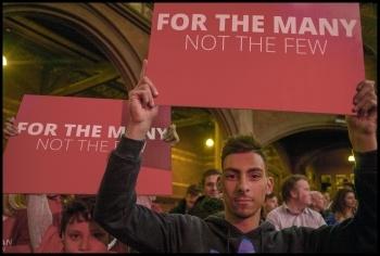 Jeremy Corbyn's 'homecoming' election rally in Islington, 8.6.17, photo Paul Mattsson