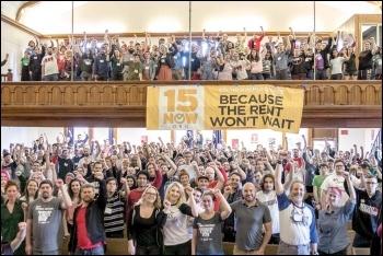 Socialist Alternative's inaugural 2017 summer school