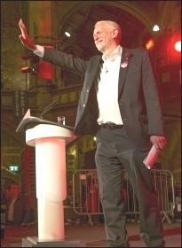 Jeremy Corbyn speaking in Islington, June 2017, photo Paul Mattsson