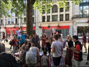 Grenfell solidarity protest photo Calum Glanville-Ellis