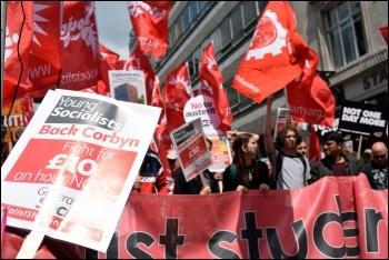 PA anti-austerity demo 1.7.17 (3), photo Mary Finch
