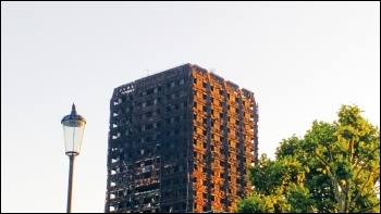 Grenfell Tower, photo James Ivens