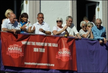 Durham Miners Gala 8.7.17, photo David Beale