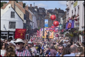 Durham MIners Gala July 2017, photos Paul Mattsson