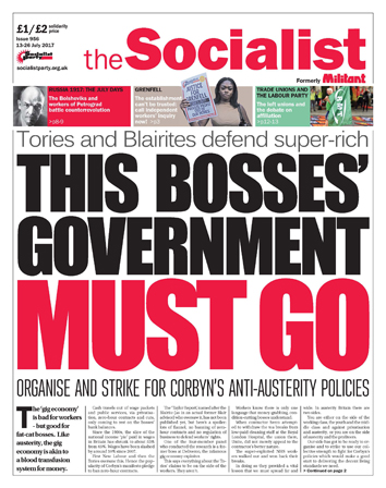 The Socialist issue 956