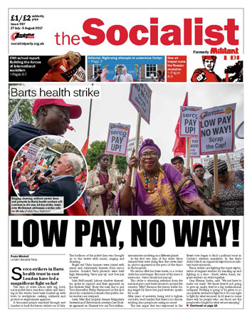 The Socialist issue 957