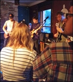 The Young Socialists' Grenfell benefit gig in Cardiff, 7.7.17, photo by Young Socialists WAles