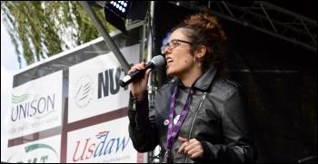 Laura Garcia, photo Tanis Belsham-Wray