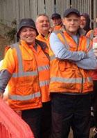 Birmingham bin workers on strike