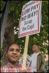 Barts strike demo, July 201, photo Paul Mattsson