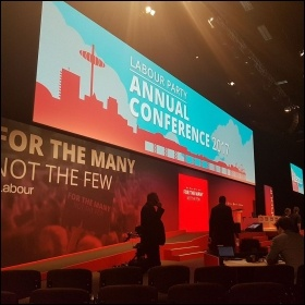 Labour Party conference 2017, photo Joanne Harris