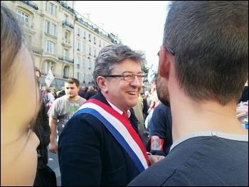 Jean-Luc Mélenchon buys a copy