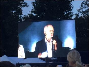 Jeremy Corbyn, Brighton, September 2017