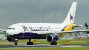 Monarch airlines, photo RHL Images/CC