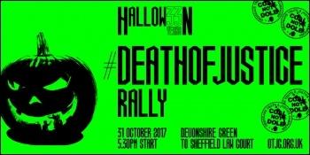 Orgreave Halloween #DeathOfJustice rally 2017