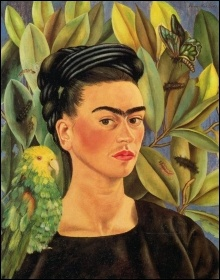 Self-portrait, by Frida Kahlo