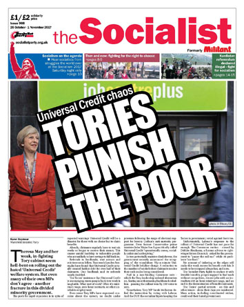 The Socialist issue 968