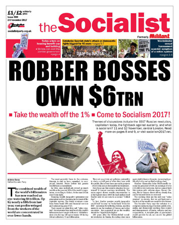 The Socialist issue 969