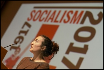 Coral Latorre, Socialism 2017, photo Paul Mattsson