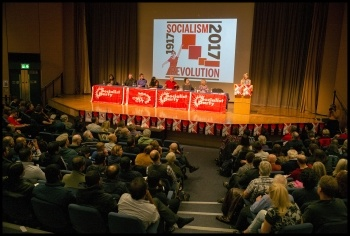 Socialism 2017, photo Paul Mattsson