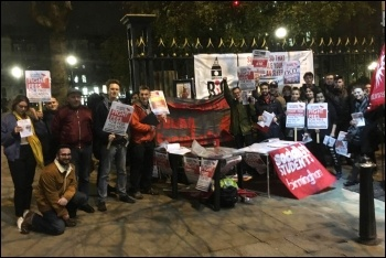 Birmingham: Socialist Students Budget Day protest, 22.11.17
