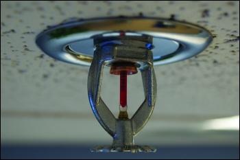 Sprinklers save lives, photo Brandon Leon/CC