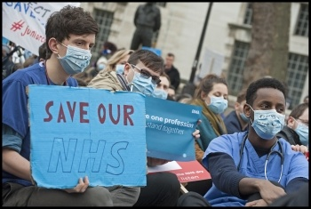 Save our NHS, photo Paul Mattsson