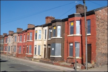 Empty homes in Liverpool, photo Derek Harper/CC