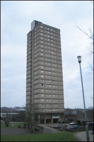 Cwmbran Tower in Wales