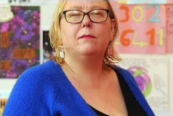 Louise Harrison has been victimised for fighting cuts to Women's Aid funding