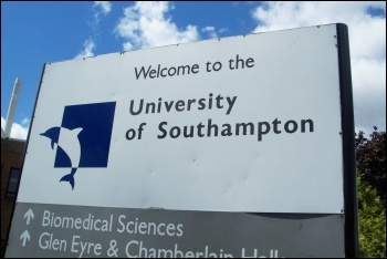 The head of Southampton Uni pays himself over �400,000 - and wants to sack 50 lecturers, photo by Carlesmari (CC)