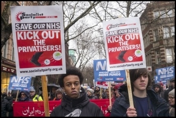3rd Feb demo, London, photo by Paul Mattsson