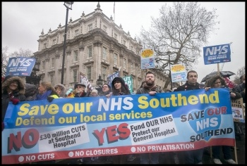 3 Feb 2018 demo, London, photo by Paul Mattsson