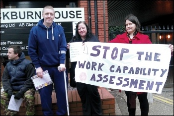 Capita is one of the outsourcers which managed the DWP's notorious 'work capability assessments', photo by Pete Mason