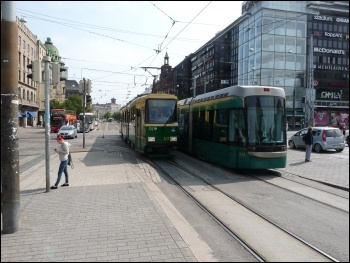 Helsinki tram, photo Smiley.toerist