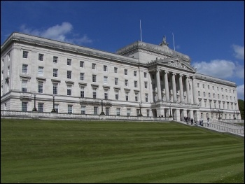 Stormont, Northern Ireland parliament building, photo Wknight94/CC