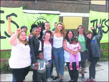 E15 mums were evicted from their homeless hostel by Robin Wales after he withdrew funding support